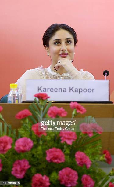 Bollywood actress Kareena Kapoor who is Unicef's celebrity advocate launched the ChildFriendly School and Systems package in New Delhi The package...