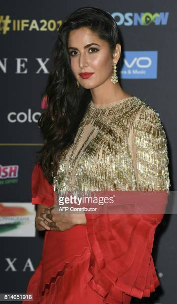 Bollywood Actress Katrina Kaif arrives for IIFA Rocks July 14 2017 at the MetLife Stadium in East Rutherford New Jersey during the 18th International...
