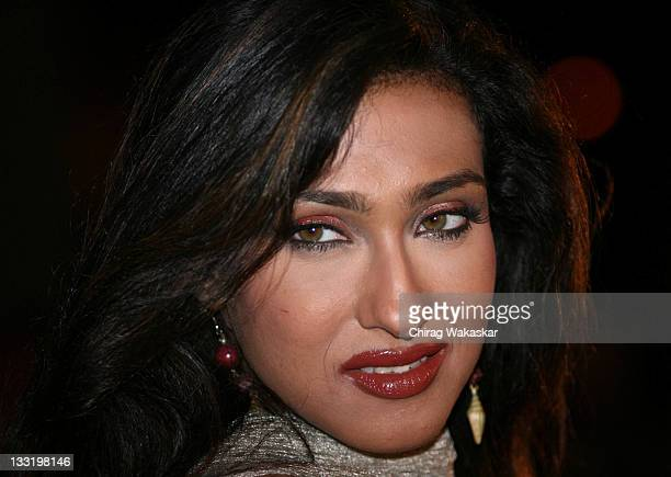 Bollywood actress Rituparna Sengupta at the Premiere of Sirf held at CinemaxVersova on April 23 2008 in Mumbai India