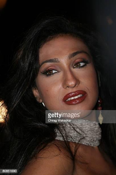 Bollywood actress Rituparna Sengupta at the Premiere of Sirf held at CinemaxVersova on April 23 2008 in Mumbai India