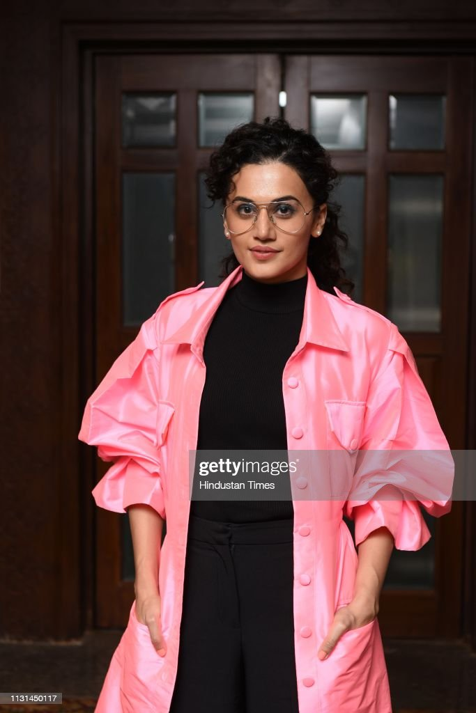 IND: Bollywood Actress Taapsee Pannu During An Interview