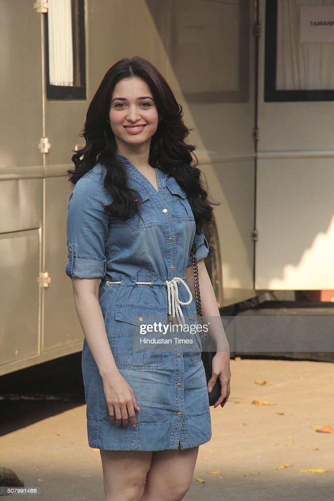 7b15165d3 Bollywood actress Tamanna Bhatia snapped at Mehboob Studios, Bandra ...