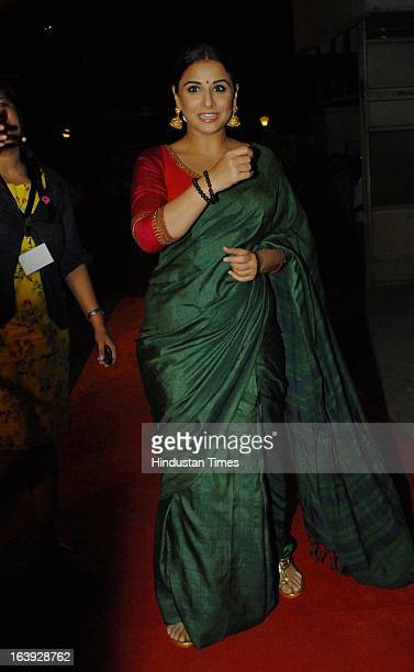 Bollywood actress Vidya Balan poses during the Bawraas concert on March 15 2013 in Mumbai India Bawraas is a unique two hour Laughter Lyrics and...