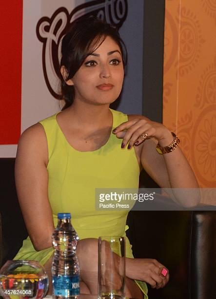 Bollywood actress Yami Gautam during Cornetto Ice cream festival in Kolkata