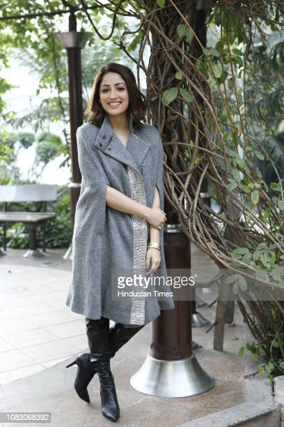 Bollywood actress Yami Gautam poses during a profile shoot for HT City on January 9 2019 in New Delhi India