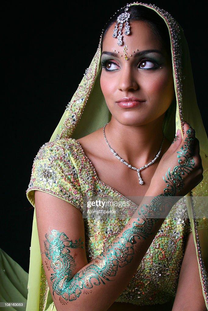 Bollywood Bride : Stock Photo