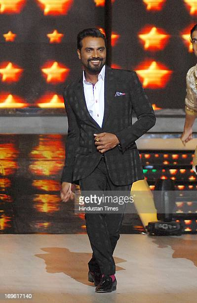 Bollywood choreographer Remo D'Souza during the first look of the dance reality show Jhalak Dikhla Jaa Season 6 at Filmistan Studio on May 27 2013 in...