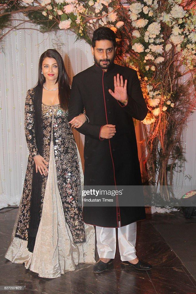 Bollywood Couple Aishwarya Rai Bachchan And Abhishek Bachchan At