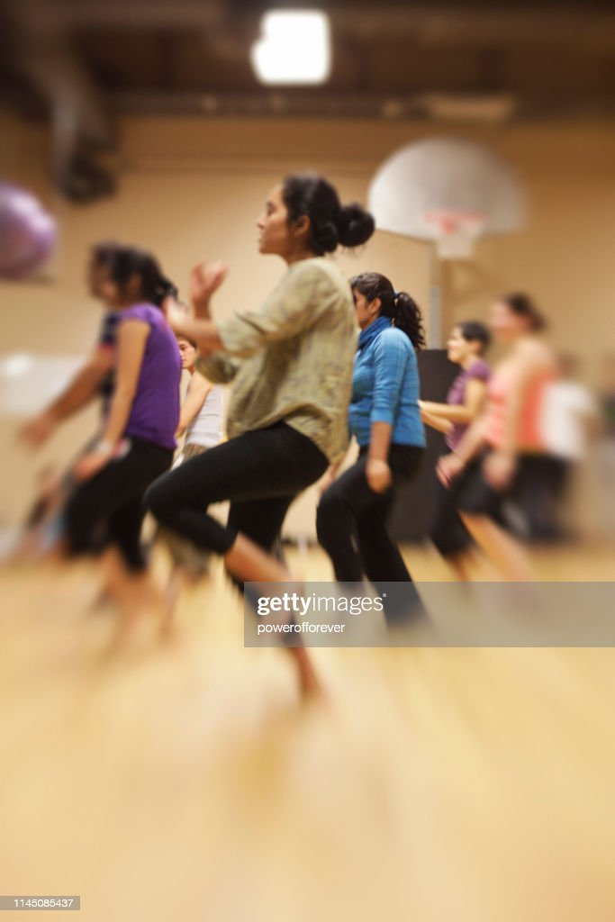 Bollywood Dance Group : Stock Photo