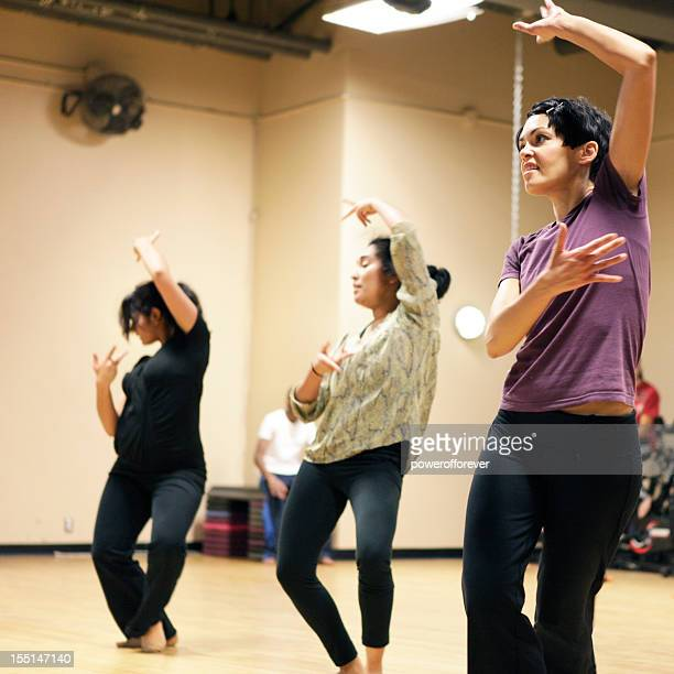 bollywood dance group - dance troupe stock photos and pictures