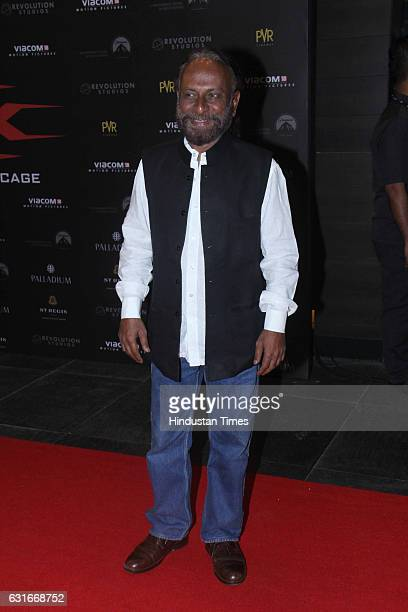 Bollywood director Ketan Mehta at the red carpet of premier of 'xXx Return of Xander Cage' movie on January 12 2017 in Mumbai India 'xXx Return of...