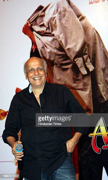 Bollywood director Mahesh Bhatt at Music launch of bollywood movie Aashiqui 2 on April 8 2013 in Mumbai India