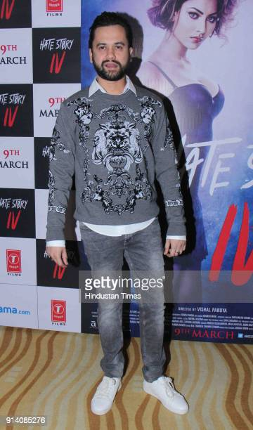 Bollywood director Vishal Pandya during a song launch 'Aashiq Banaya Aapne' of film Hate Story 4 at The View Andheri on January 31 2018 in Mumbai...