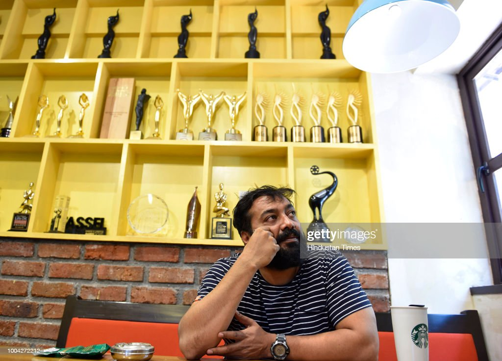 Profile Shoot Of Bollywood Filmmaker Anurag Kashyap