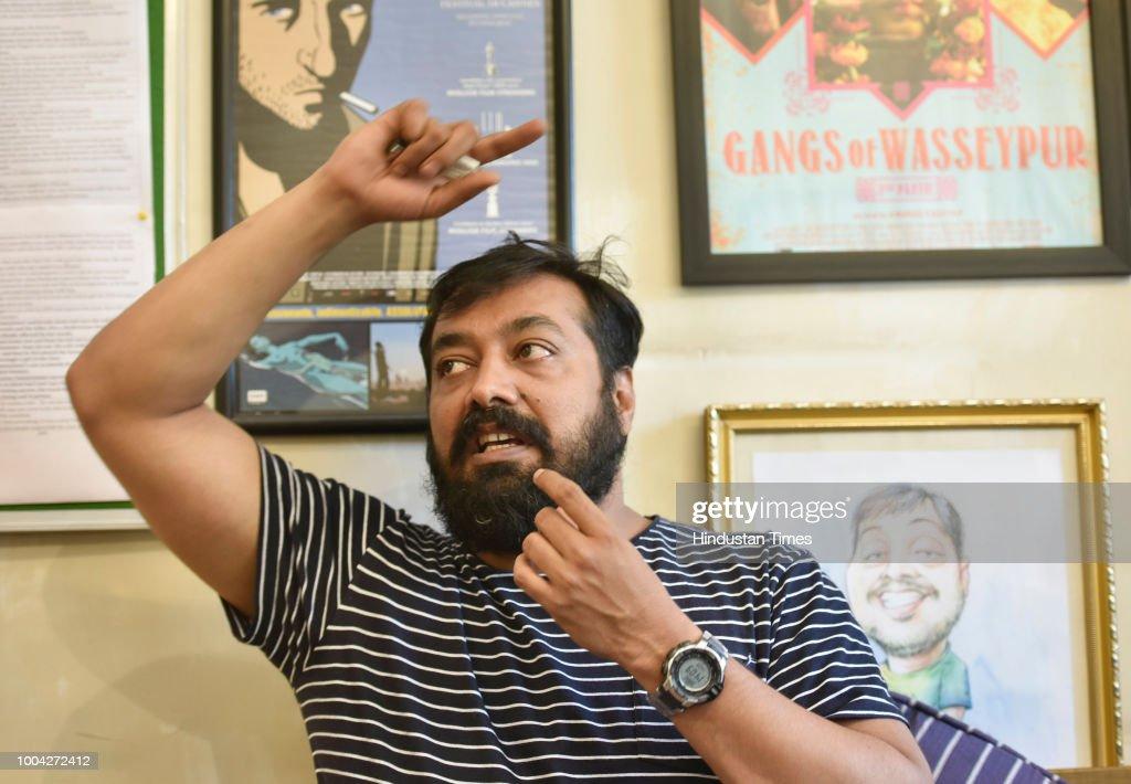 Profile Shoot Of Bollywood Filmmaker Anurag Kashyap
