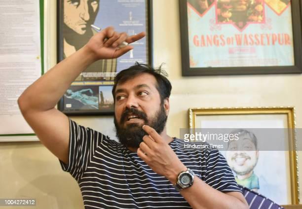 Bollywood Film maker Anurag Kashyap at his office in Oshiwara on May 22 2016 in Mumbai India