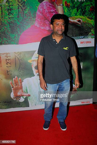 Bollywood filmmaker Ken Ghosh during the special screening of movie Finding Fanny at Sunny Super Sound Juhu on September 10 2014 in Mumbai India...