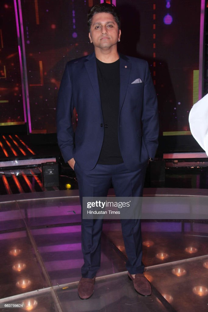 Bollywood filmmaker Mohit Suri during the promotion of film Noor and Nach Baliye integration on the sets of Star Plus singing reality show Dil Hai...
