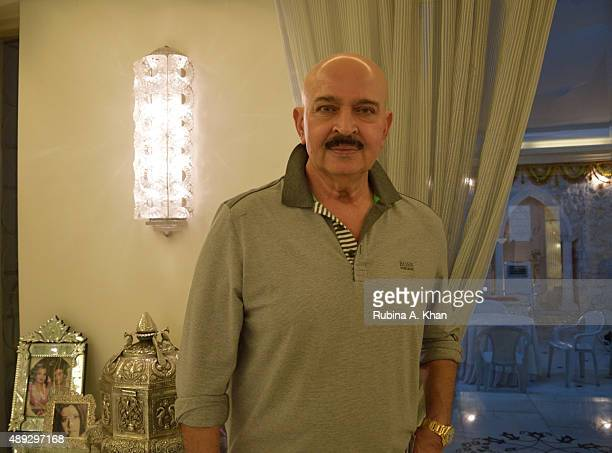 Bollywood filmmaker Rakesh Roshan at the celebratory Ganesh Chaturthi lunch hosted by actor Jeetendra and his wife Shobha Kapoor at their residence...