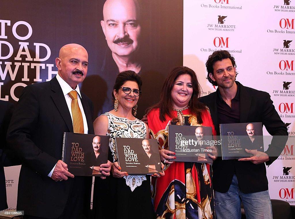 Bollywood filmmaker Rakesh Roshan with his wife Pinky Roshan