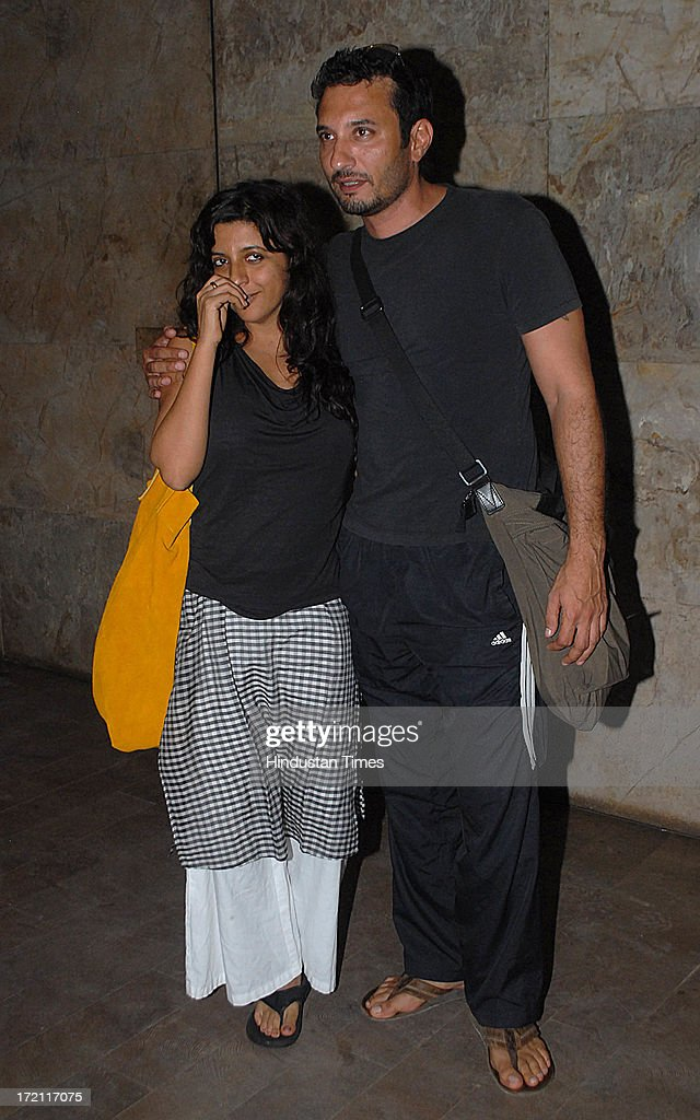 Bollywood filmmaker Zoya Akhtar during the special screening of film Lootera at Light Box Santracruz on JUNE 30 2013 in Mumbai India Lootera is an...