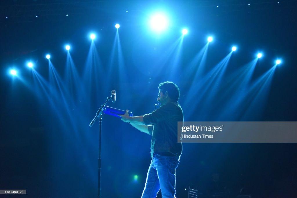 IND: Bollywood Singers Vishal and Shekhar Perform At Hindu College