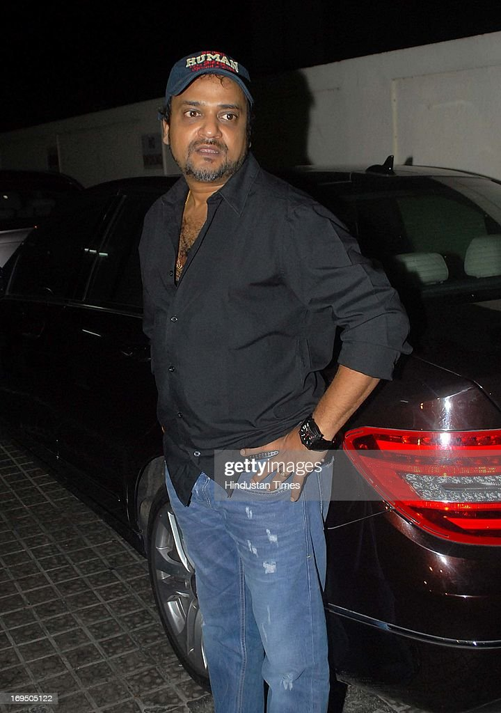 Bollywood music composer Sajid Ali during the special screening of film Ishkq in Paris at PVR Juhu on May 23 2013 in Mumbai India Film starring...