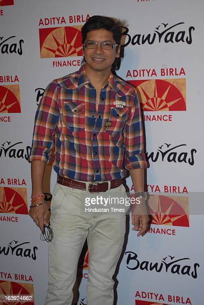 Bollywood playback singer Shaan Mukherjee poses during the Bawraas concert on March 15 2013 in Mumbai India Bawraas is a unique two hour Laughter...
