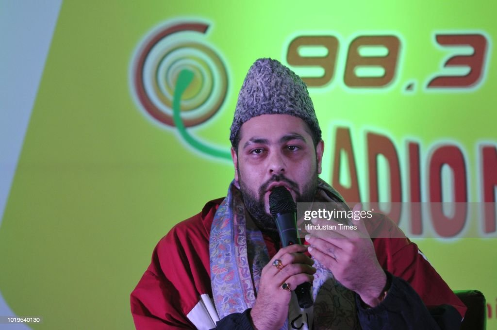 Bollywood Rapper Badshah During Radio FM Channel Mirchi 98.3 Launch In Srinagar