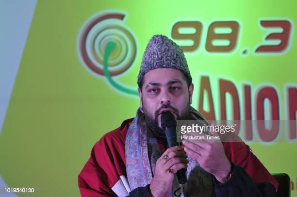 Bollywood rapper Badshah during Mirchi 983 launch on August 19 2018 in SrinagarIndia
