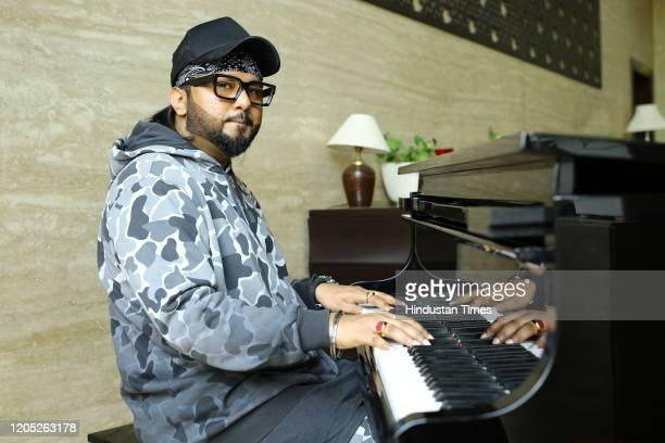Bollywood singer and rapper Yo Yo Honey Singh poses during an exclusive interview with HT City-Hindustan Times, at Fraser Studios, Mayur Vihar, on...