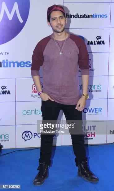 Bollywood Singer Armaan Malik during Bollywood singer Arijit Singh Live in concert at MMRDA Grounds BKC on November 12 2017 in Mumbai India