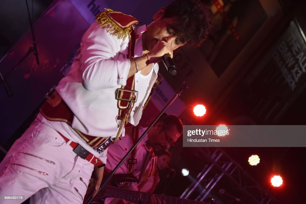 Bollywood Singer Palash Sen Performs At Friday Jam Season 5 At Cyber Hub