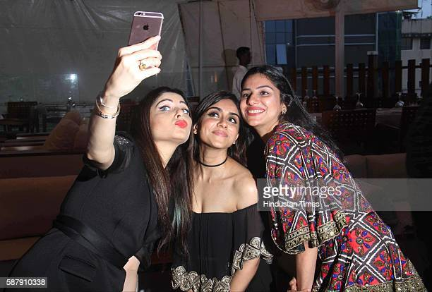 Bollywood singer Kanika Kapoor and actor Zoa Morani during the announcement of Cineyug's first edition of luxury and lifestyle exhibition JOYA...