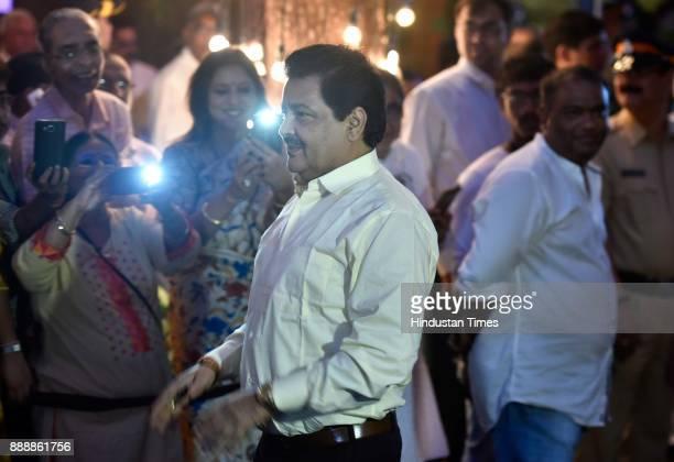 Bollywood singer Udit Narayan during a condolence meeting of late actor Shashi Kapoor at Prithvi Theatre Juhu on December 7 2017 in Mumbai India...