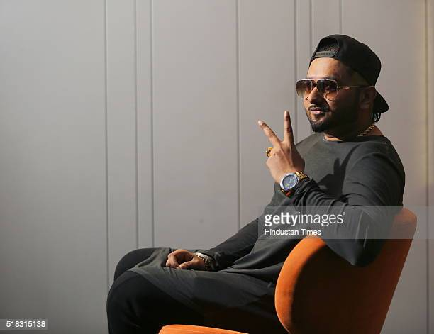 Bollywood SingerRapper Yo Yo Honey Singh poses during an exclusive interview with HT CityHindustan Times for his upcoming Punjabi action film Zorawar...