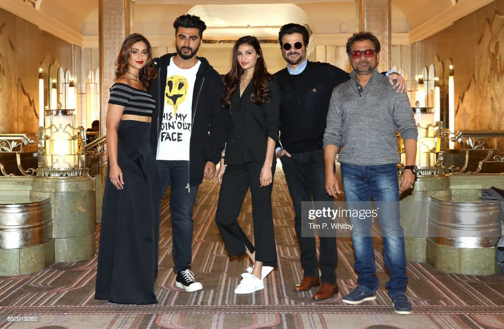 Photocall with Bollywood Star Anil Kapoor And Cast Of Mubarakan : News Photo