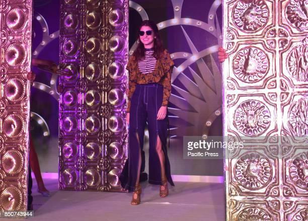 Bollywwod film actress Anushka Sharma launch new collection of Polaroid sunglasses at hotel JW Marriott Juhu in Mumbai