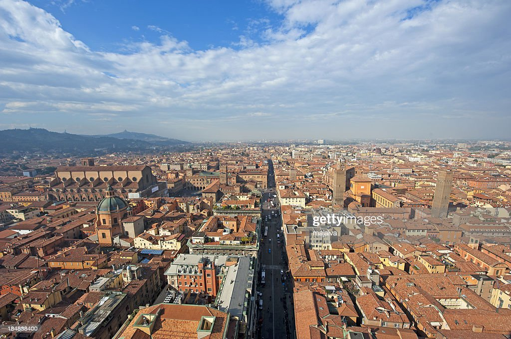 Bologna cityscape : Stock Photo