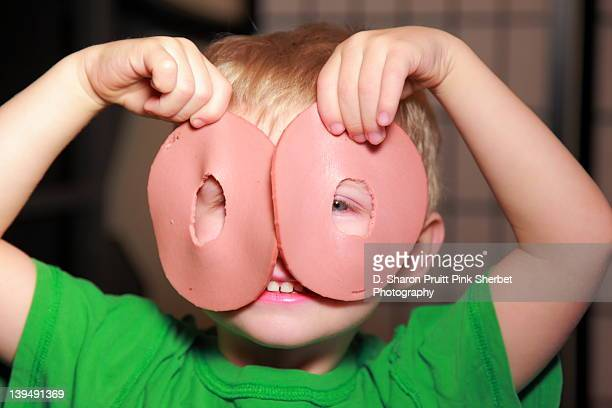 bologna face - baloney stock photos and pictures