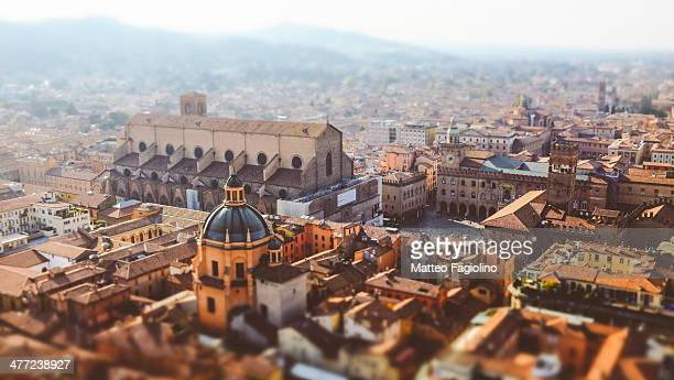 bologna in miniatura - bologna stock pictures, royalty-free photos & images