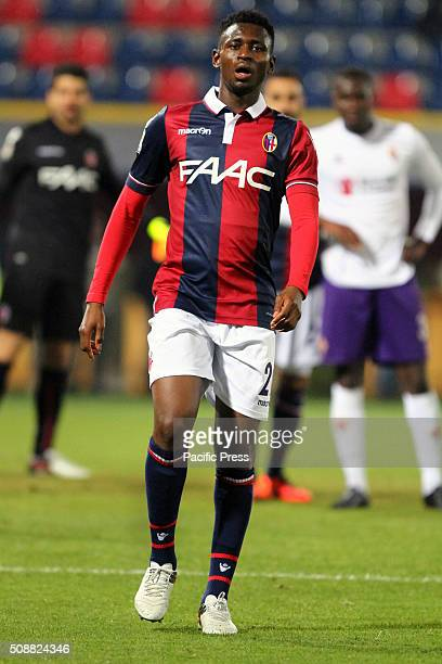Bologna's midfielder Amadou Diawara looks during the Italian Serie A football match between Bologna FC v ACF Fiorentina