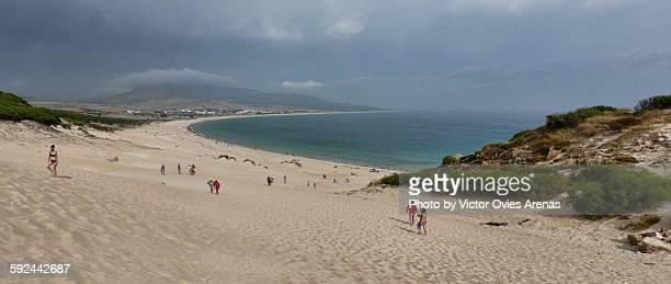 bolonia beach and dunes - victor ovies fotografías e imágenes de stock