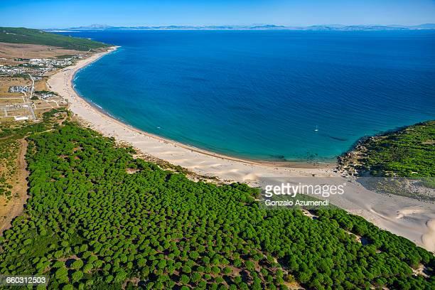 bolonia dune in tarifa - cádiz fotografías e imágenes de stock