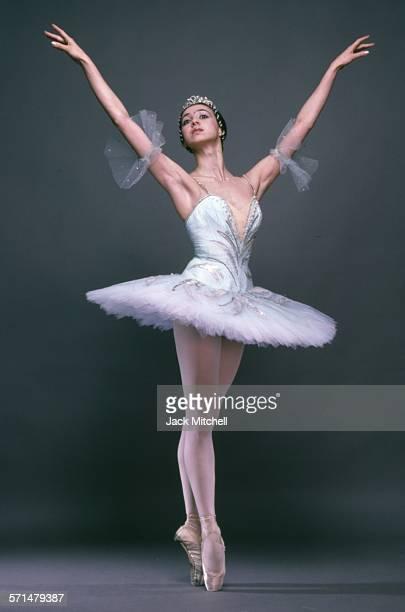 Bolshoi Ballet dancer Nina Anaiashvili photographed in 1987.
