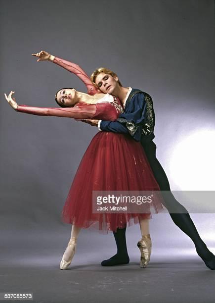 Bolshoi Ballet dancers Nina Anaiashvili and Andris Liepa photographed in 1987.