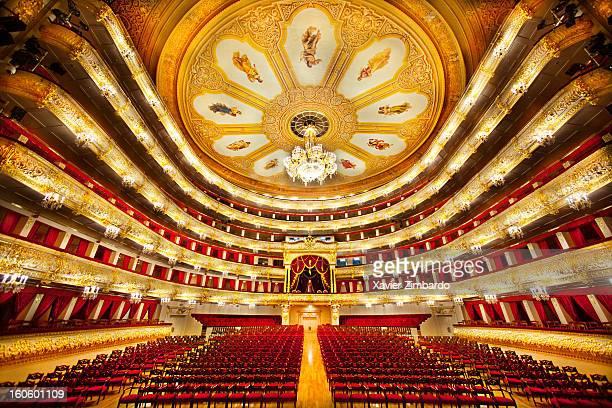 Bolshoi Ballet Theater Auditorium Ceiling Chandelier