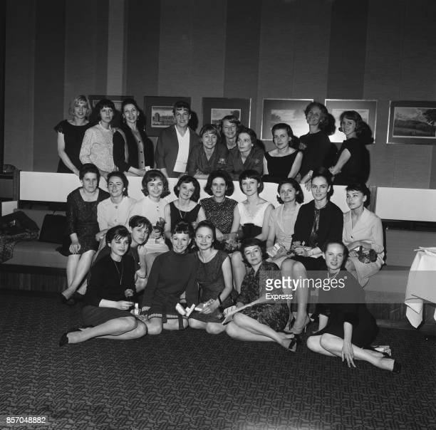 Bolshoi classical ballet company based at the Bolshoi Theatre in Moscow UK 15th September 1965 The company includes Irina Kandat Ludmila Vasilieva...