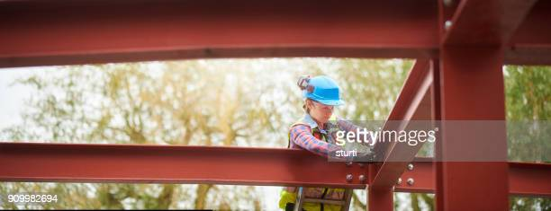 bolting the steels - fastening stock pictures, royalty-free photos & images