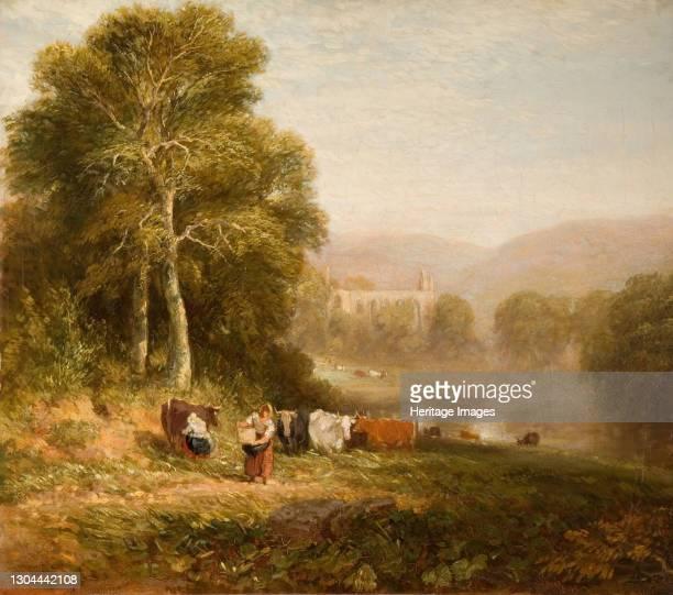 Bolton Abbey, 1844. Artist David Cox the elder.